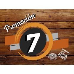 Promo 7 - Pizza muzzarella...